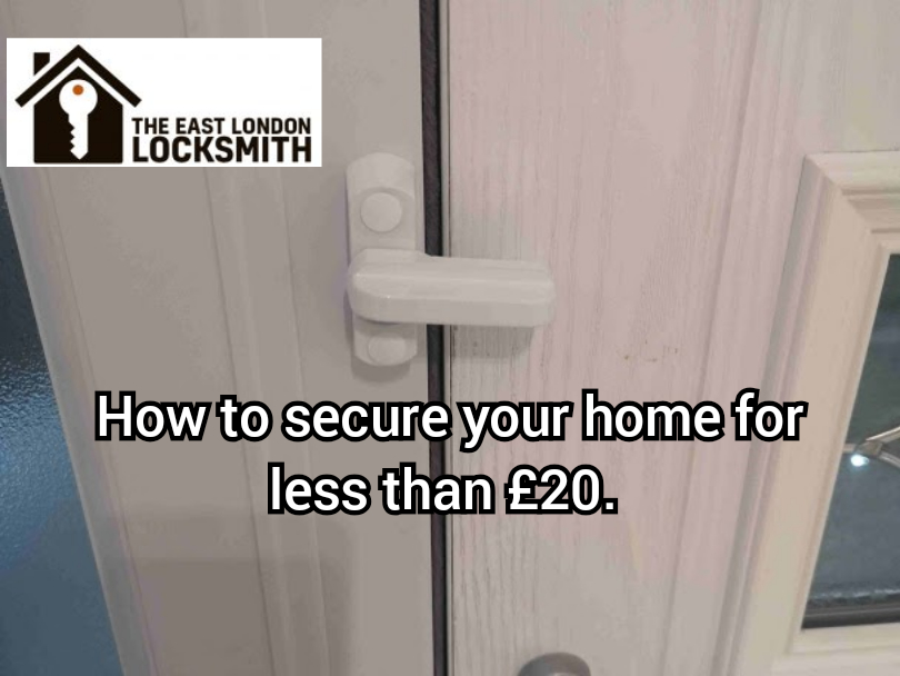 How to secure your home this winter for less than £20. Part 1
